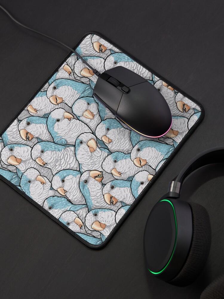 Alternate view of Blue Quaker Parrots Mouse Pad