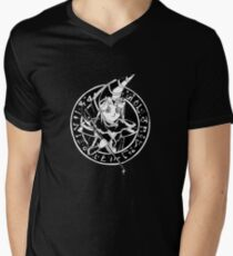 Dark Magician Yugi Mens V-Neck T-Shirt