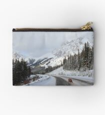 Alone on the road Studio Pouch