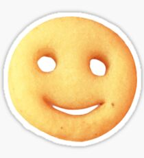 Smiley fry Sticker