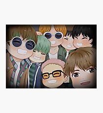 BTS - RUN Photographic Print