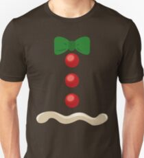 Gingerbread Man Christmas Costume T-Shirt