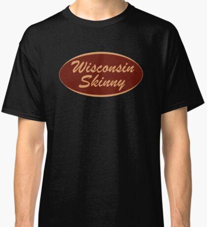 The Original Wisconsin Skinny Logo Classic T-Shirt