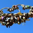 Love Padlocks - Cinque Terre by Marilyn Harris