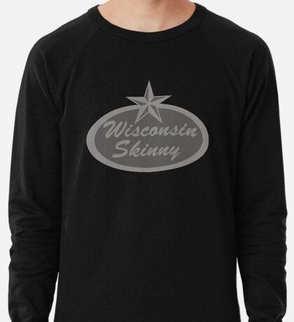Wisconsin Skinny Shades of Gray  Lightweight Sweatshirt