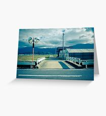 Bridge over Irrigation Canal Greeting Card