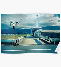 Bridge over Irrigation Canal Poster