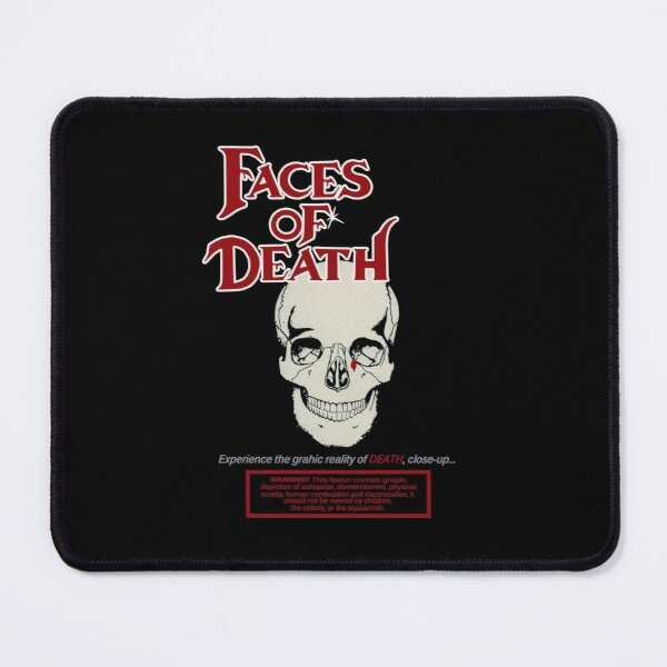Faces of Death 1978 Classic Horror art Mouse Pad