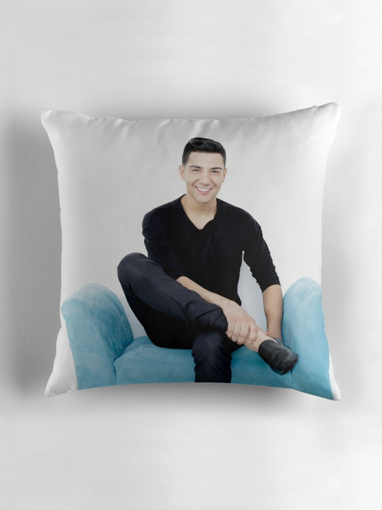 Quot Luis Coronel Quot Throw Pillows By Coronela Redbubble