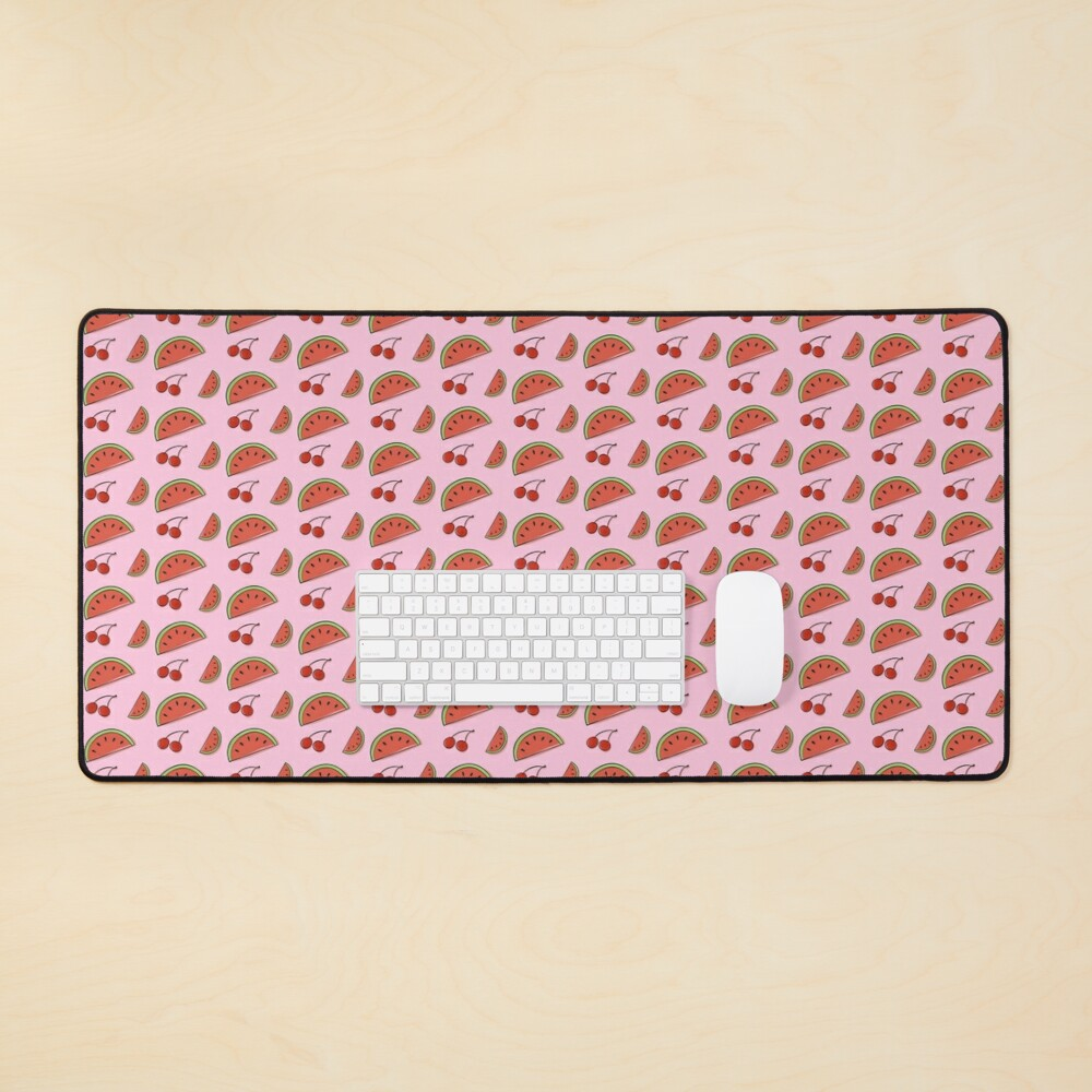 Watermelon Cherry Mouse Pad