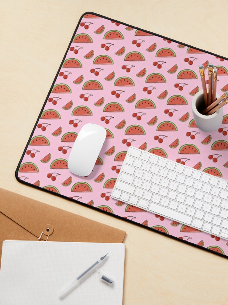 Alternate view of Watermelon Cherry Mouse Pad
