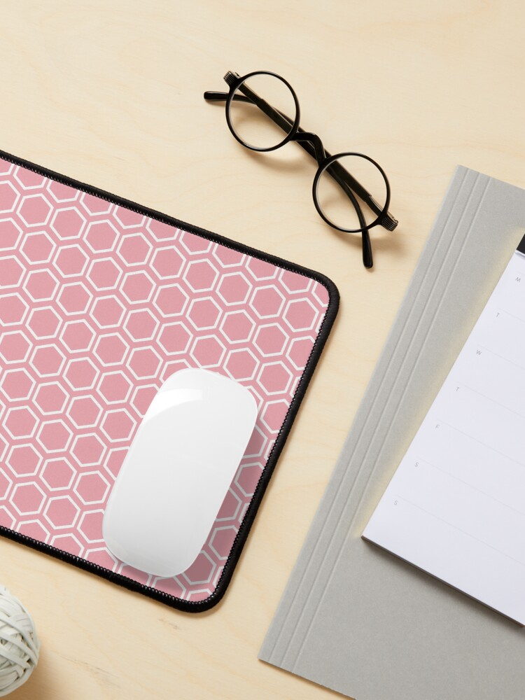 Alternate view of Hexagon Pattern for Leggings, Phones and Cases Mouse Pad