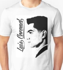 Luis Coronel Blanco/Negro Unisex T-Shirt