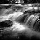 Cascade at Horseshoe Falls, Mt Field by Jim Lovell