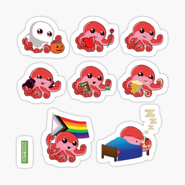 Octo Sticker Pack Sticker