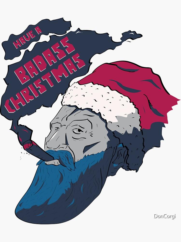 Badass Christmas by DonCorgi