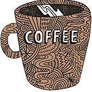«café» de Audrey Metcalf