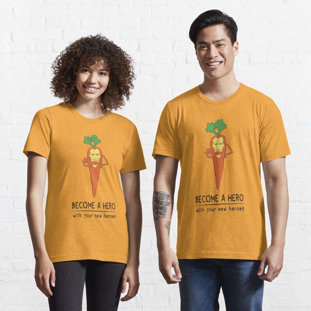 Iron Carrot Essential T-Shirt