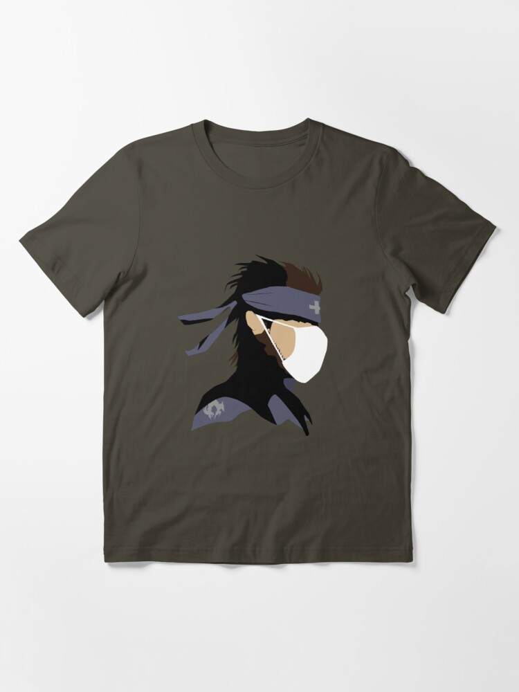 Alternate view of Solid Snake Paramedic Essential T-Shirt