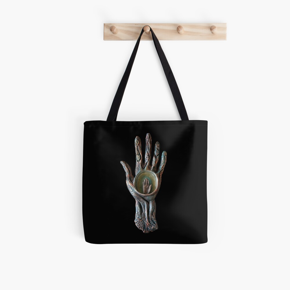 Open Receive Tote Bag