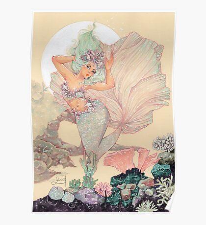 Frozen Mermaid Poster