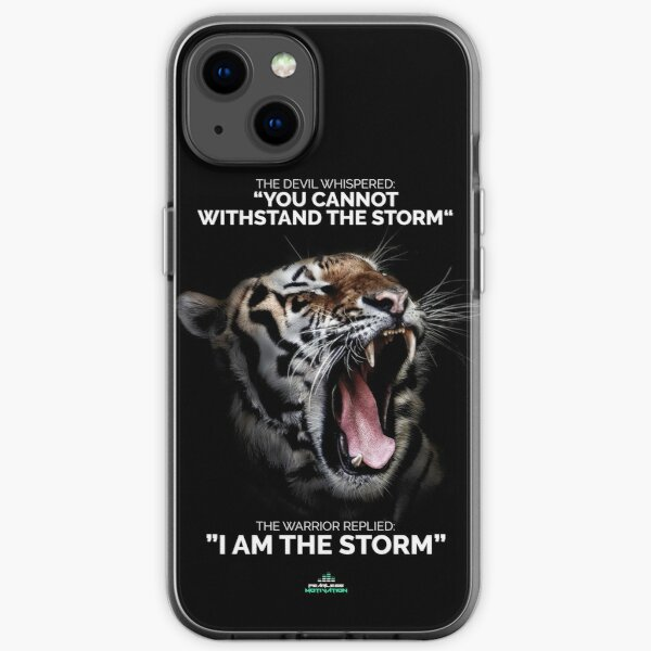 I AM THE STORM! iPhone Soft Case