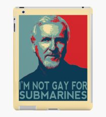 James Cameron is NOT Gay for Submarines iPad Case/Skin