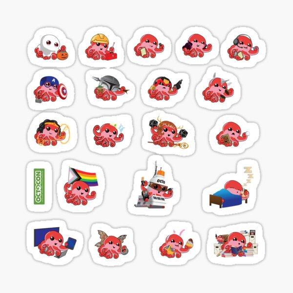 Octo Mini Sticker Pack Sticker