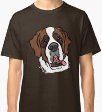 Goofy St. Bernard Classic T-Shirt