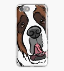 Goofy St. Bernard iPhone Case/Skin