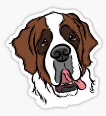Goofy St. Bernard Sticker