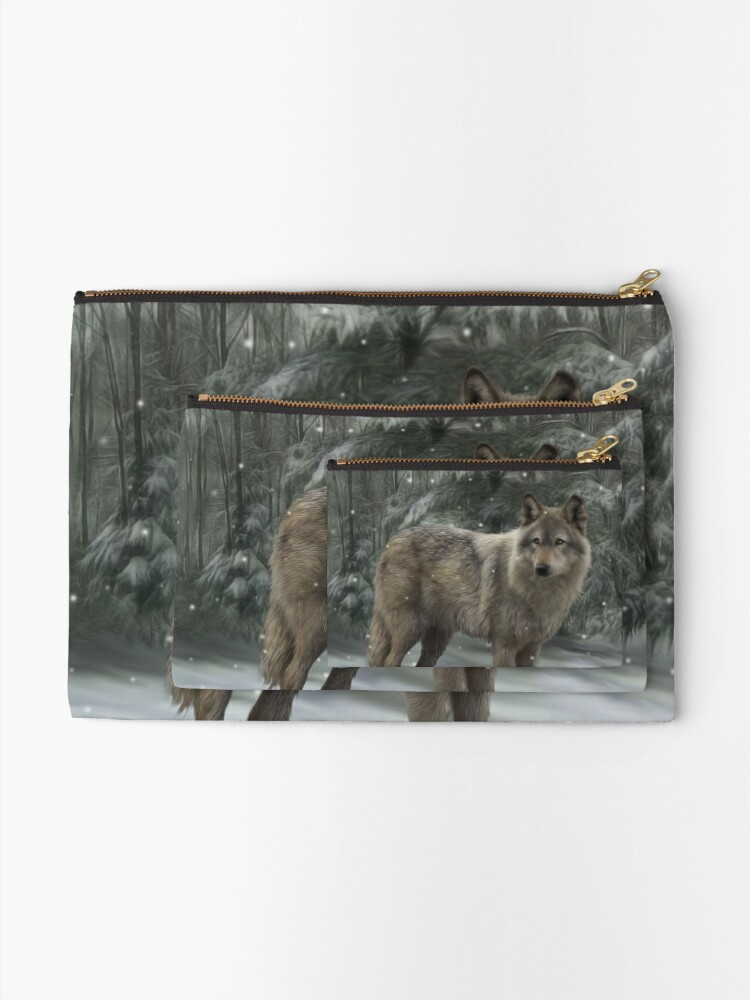 Alternate view of Luna Zipper Pouch