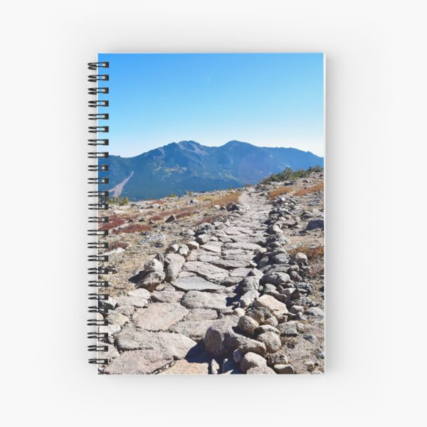Trail in Rocky Mountain National Park Spiral Notebook