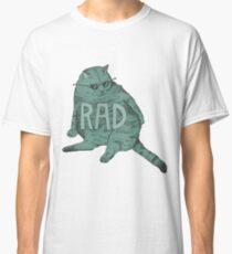 Camiseta clásica rad gato