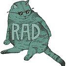 «rad gato» de Audrey Metcalf