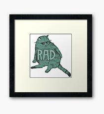 rad cat Framed Print