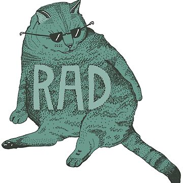 rad cat by AUDREYHELLADOPE