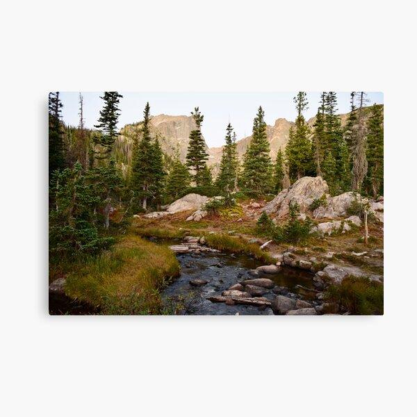 Morning Light on The River - Colorado Canvas Print