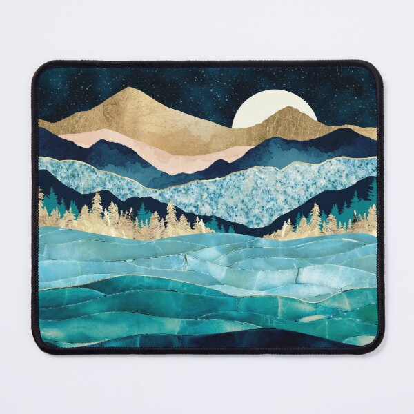 Midnight Ocean Mouse Pad
