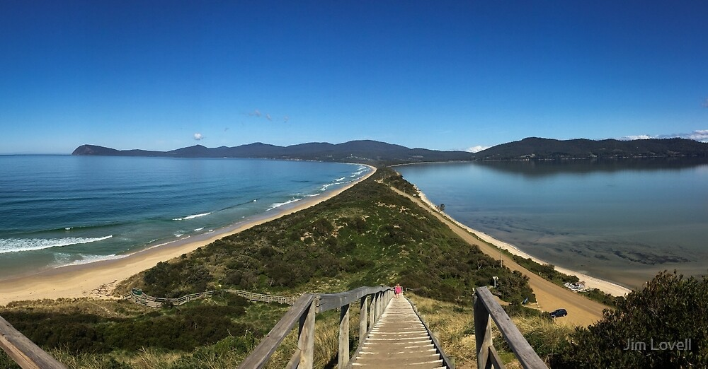 The Neck, Bruny Island by Jim Lovell