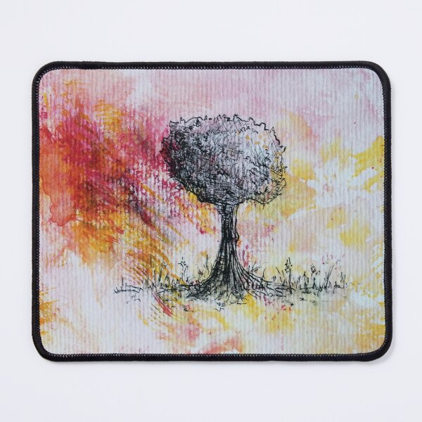 I'm burning away for you Mouse Pad