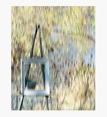 The Easel Photographic Print