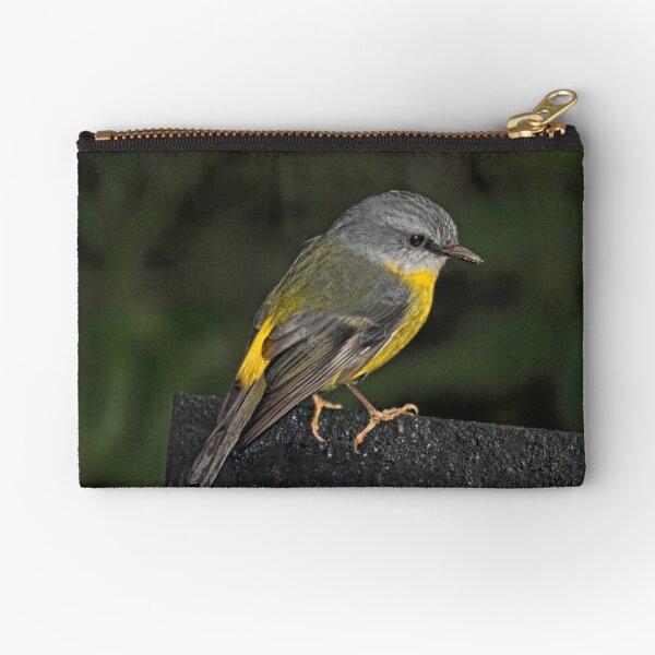 Eastern Yellow Robin Zipper Pouch