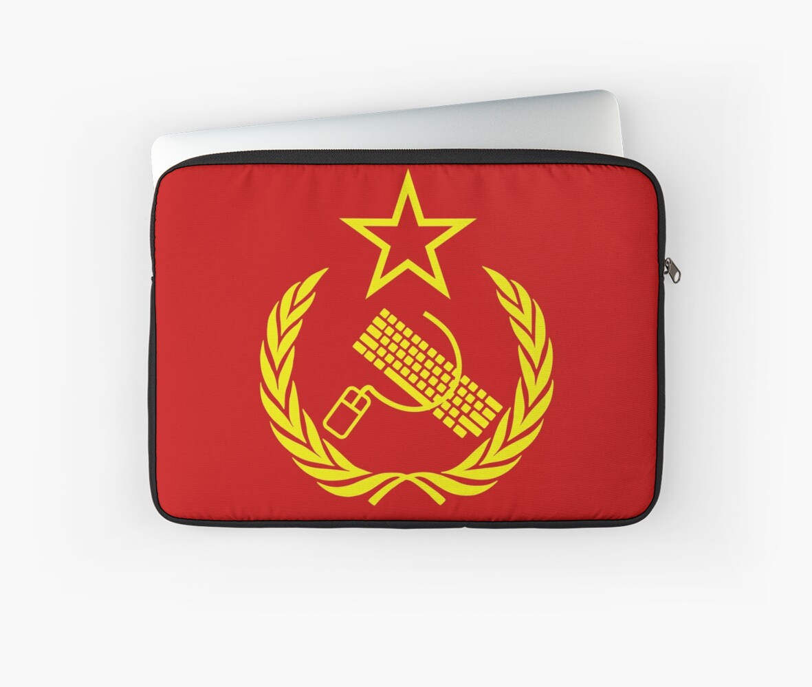 Communist keyboard mouse laptop sleeves by chocodole redbubble communist keyboard mouse by chocodole biocorpaavc Choice Image