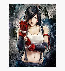 Tifa Lockhart FF7 Portrait Photographic Print