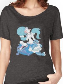 Popplio and Evolutions Women's Relaxed Fit T-Shirt