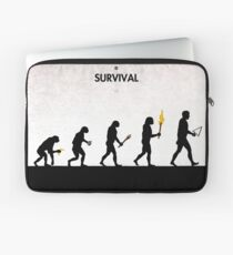 99 Steps of Progress - Survival Laptop Sleeve