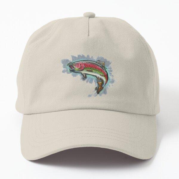 Procreate Rainbow Trout Dad Hat