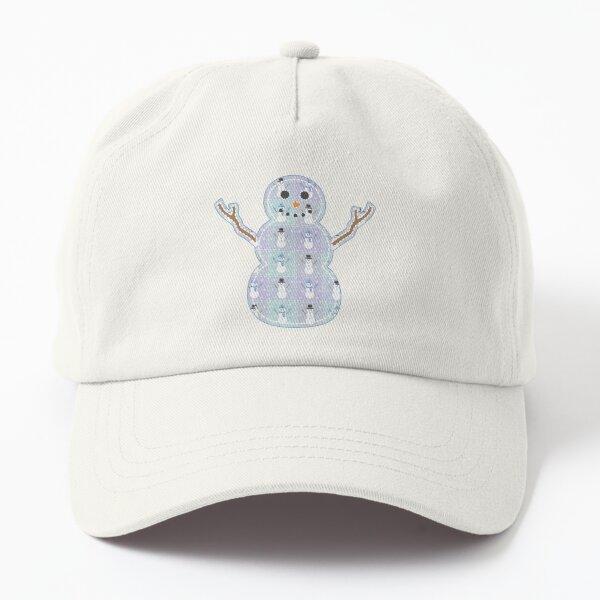 Winter Quilt Dad Hat