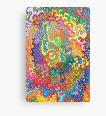 Colour Tangles Canvas Print